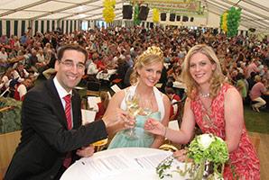 Weinprobe am Winzerfest